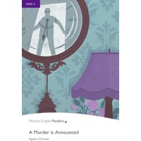 A Murder Is Announced - Penguin Longman English Readers Level 5 (Book + CD Pack)