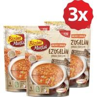 Bizim Mutfak Bakliyatlı Çorbalar - Ezogelin Çorbası Karışımı 3'lü Paket