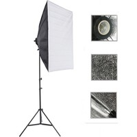 Deyatech Softbox 50X70Cm Tek Duyulu Sürekli Video Işığı Yotuber Kit Makeup Kit