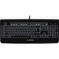 Everest Rampage KB-R12 TURRET Siyah USB Beyaz Aydınlatmalı Makrolu Q Mekanik Oyuncu Klavye