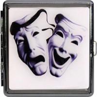 Modaroma Tiyatro Maskeleri Sigara Tabakası