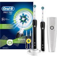 Oral-B Pro 790 Şarj Edilebilir Diş Fırçası 2'li Avantaj Paketi