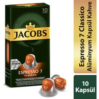 Jacobs Kapsül Kahve Espresso 7 Classic
