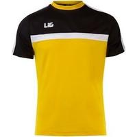 Lig Abant Antreman T-Shirt Sarı-Siyah