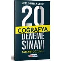 Yediiklim Yayınları KPSS Genel Kültür Coğrafya Tamamı Çözümlü 20 Deneme Sınavı