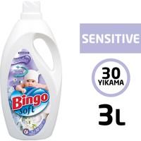 Bingo Soft Sensitive Çamaşır Yumuşatıcısı 3L