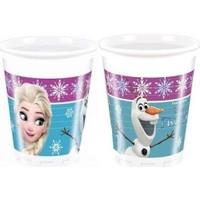 PartiniSeç 8 Adet Elsa Frozen Bardak Set Doğum Günü Parti Konsepti Bardağı