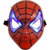 PartiniSeç Spiderman Işıklı Maskesi Örümcek Adam Doğum Günü Işıklı Maskeleri