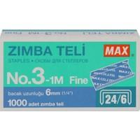 Max Zımba Teli No:3-1M (24/6)1000 adet, 11.5 mm x 6 mm