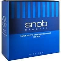 Snob Classic Edt 100 ml + Deodorant 150 ml Hediyeli Kofre