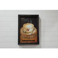 Evim Tatlı Evim Cappuccıno Tablo 33×23,5 cm