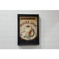 Evim Tatlı Evim Mocha Jawa Tablo 33×23,5 cm