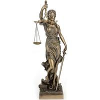Evim Tatlı Evim Adalet Kadın Heykeli 28 cm