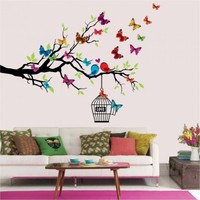 Artikel Aşık Kuşlar 132 x 99 Cm Duvar Sticker