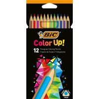 Bic Color Up 12'Li Üçgen Kuru Boya