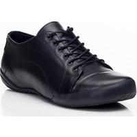 Tarçın TRC50-0503 Hakiki Deri Siyah Kadın Spor Ayakkabı