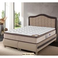 Sleep Comfort Best Brown Line Yatak Baza Başlık Set 90x190