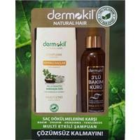 Dermokil Kofre Seti (Kepekli Şampuan + Sıvı Saç Kremi)