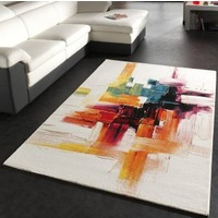 Merinos Palet PT001 120x170 cm Renkli Modern Halı