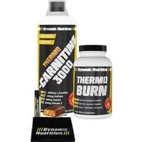 Dynamic Nutrition Thermo L-Carnitine 3000 mg 1000 ml + Thermo Burn 60 tablet + 3 HEDİYE