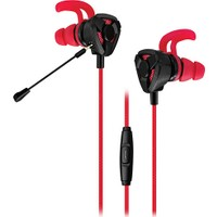 Rampage SN-RX10 Orthus Esnek Mikrofonlu Kulaklık Siyah - Kırmızı