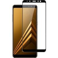 Bufalo Samsung A8 Plus (A730) Kavisli Renkli Nano Ekran Koruyucu Siyah