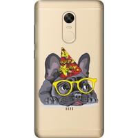 Cekuonline Xiaomi Redmi Note 4X Desenli Esnek Silikon Telefon Kapak Kılıf - Ufak Pug