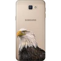 Cekuonline Samsung Galaxy J4+ Plus Desenli Esnek Silikon Telefon Kapak Kılıf - Kartal BJK