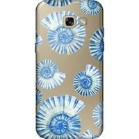 Cekuonline Samsung Galaxy A5 2017 Desenli Esnek Silikon Telefon Kapak Kılıf - Mavi Deniz