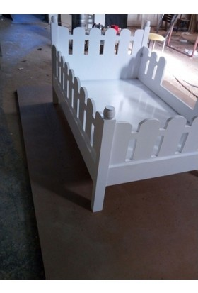 Facci Furniture Beyz Lake Montessori Çocuk Yatağı