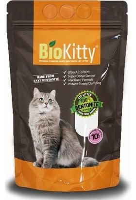 BioKitty Pudralı İnce Taneli 10 tl 2 Adet Kedi Kumu