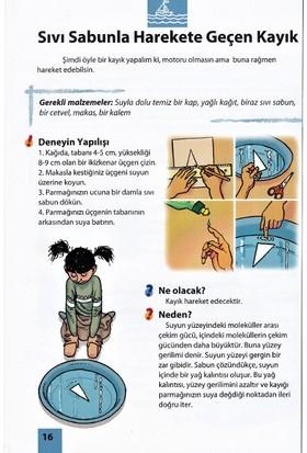Eğlenceli Bilimsel Deneyler Seti - 4 Kitap