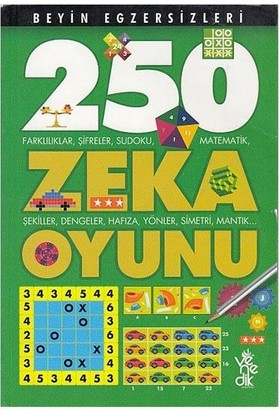 250 Zeka Oyunu Beyin Egzersizleri-2