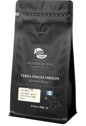 Coffeetropic Terra Single Origin Guatemala-Antigua 250 gr
