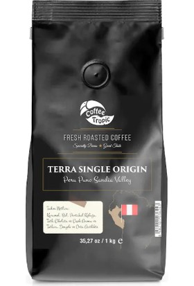 Coffeetropic Terra Single Origin Peru Puno Sandia Valley 1 Kg
