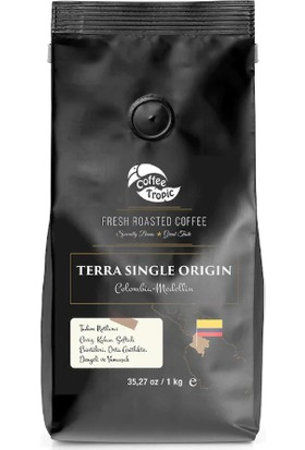 Coffeetropic Terra Single Origin Colombia-Medellin 1 kg