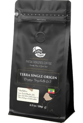 Coffeetropic Terra Single Origin Ethiopia Yirgachaffe 250 gr