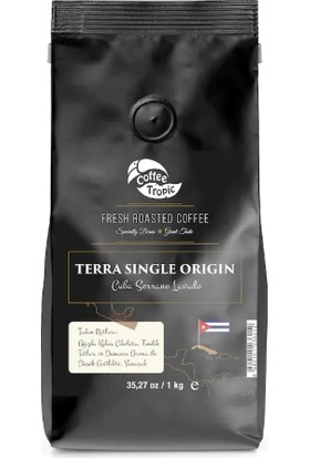Coffeetropic Terra Single Origin Cuba-Serrano Lavado 1 kg