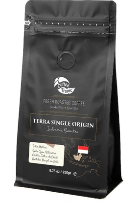 Coffeetropic Terra Single Origin Indonesia-Sumatra 250 gr