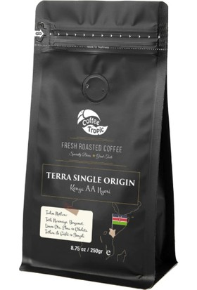 Coffeetropic Terra Single Origin Kenya Aa-Nyeri 250 gr