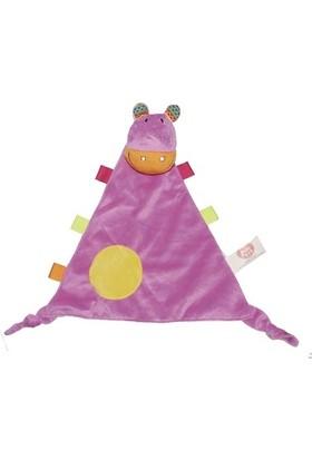 Biba Taggies Ağız Bezi Oyuncağım Hippo