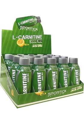 Sportica L-Carnitine 3000 Mg 20 Ampul