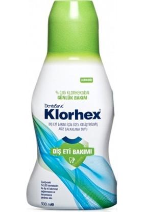 DentaSave Klorhex Günlük Bakım Ağız Çalkalama Suyu 300 ML