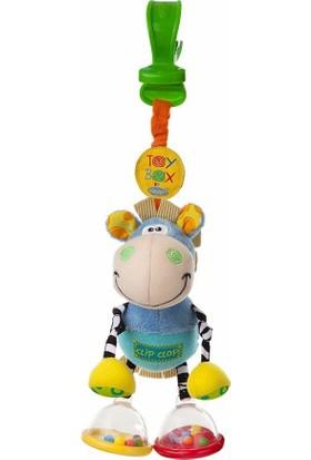 Playgro Toy Box Zebra Çıngırak