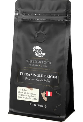 Coffeetropic Terra Single Origin Peru Puno Sandia Valley 250 Gr