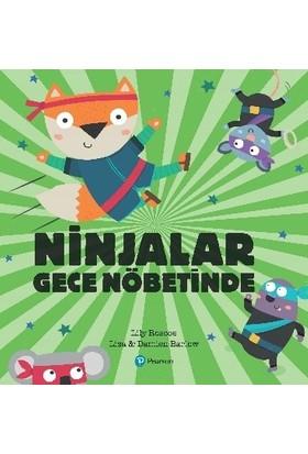 Ninjalar Gece Nöbetinde (3+ Yaş Hikaye Kitabı) - Lily Roscoe