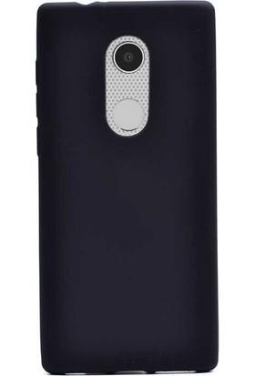 Gpack Alcatel 3 Kılıf Premier Lüx Yumuşak Silikon+Nano Glass