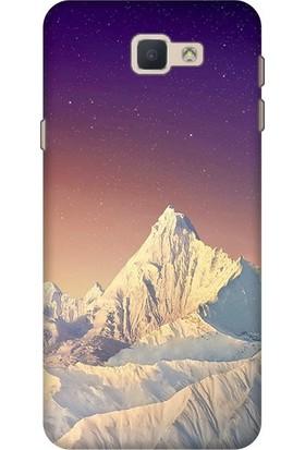 Cekuonline Samsung Galaxy J5 Prime Desenli Esnek Silikon Telefon Kapak Kılıf - Paramount