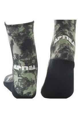Apnea Supratex Tabanlı Kamuflaj Çorap 5MM