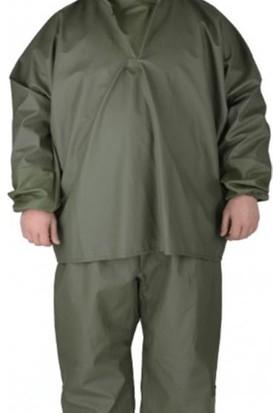 ARISAN Balıkçı Takım Yağmurluk Yeşil